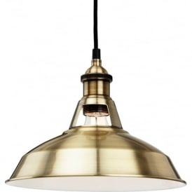 FirstLight 4867AB Albany Pendant Light Antique Brass