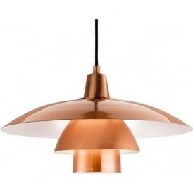 FirstLight 4853CP Olsen Pendant Light Brushed Copper
