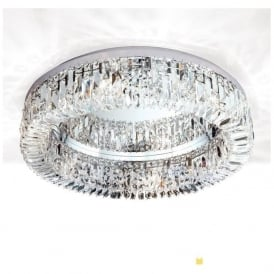 RIN2411660 Ring 6 Light Ceiling Light Polished Chrome Scholer Crystal