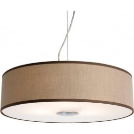 Firstlight 4886TA Madison Ceiling Pendant Light Taupe