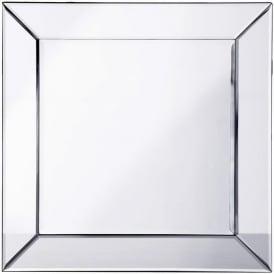 Pharmore PO895-GY-66SIL 60cm x 60cm Mitre Edge Mirror