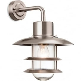Firstlight 4908ST Austin Wall Light Stainless Steel IP44
