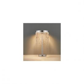 Endon 73769 Zelma LED Table Lamp Chrome