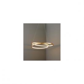Endon 72479 Scribble LED Ceiling Pendant Gold Leaf
