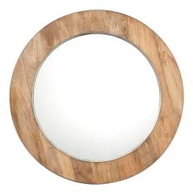 Endon 70490 Torrington Mirror Natural Wood
