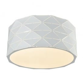 Franklite CF5768 Tangent 4 Light Ceiling Light White