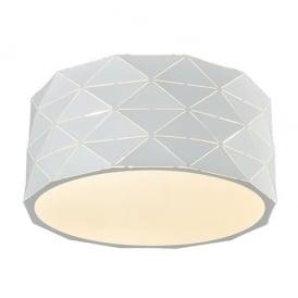 Franklite CF5768 Tangent 4 Light Ceiling Light White