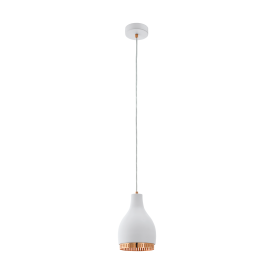 Eglo 96871 Cocno 1 Light Ceiling Light White