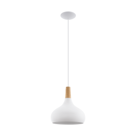 Eglo 96982 Sabinar 1 Light Ceiling Light White