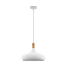 Eglo 96983 Sabinar 1 Light Ceiling Light White