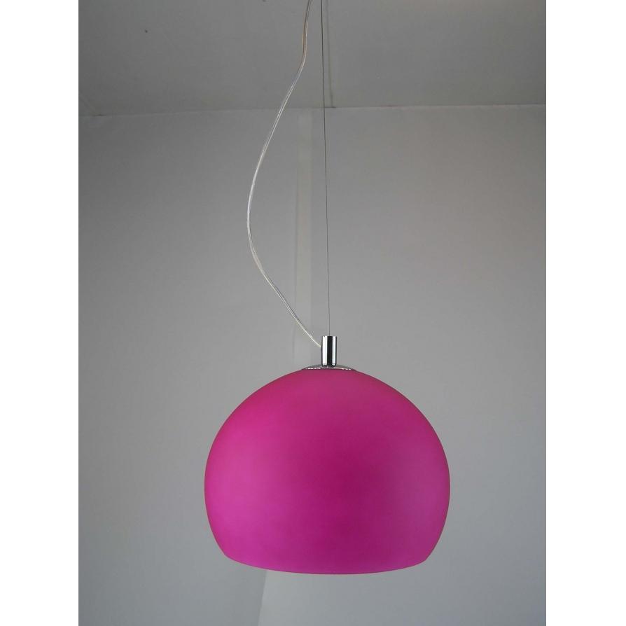 modern retro lighting. retro lighting lpendelpink 1 light modern ceiling pendant pink and polished chrome finish u