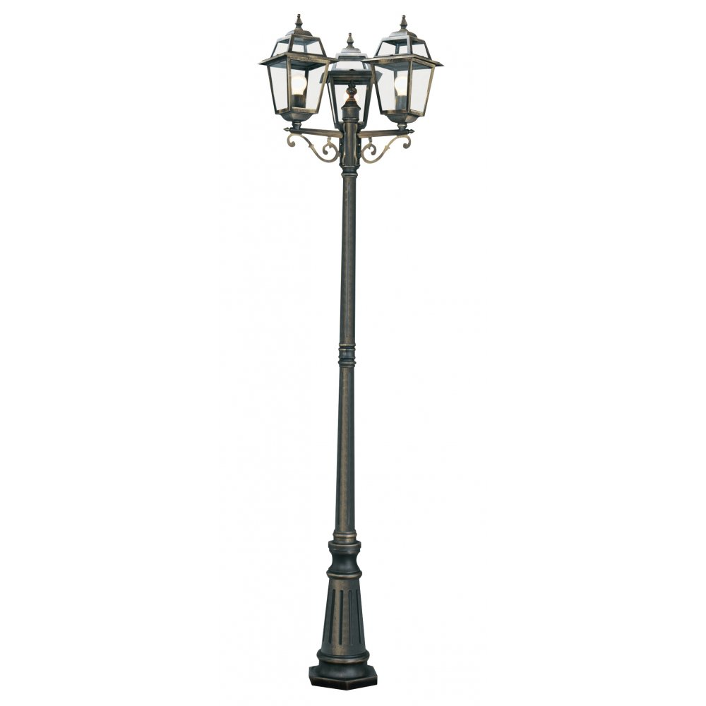 New orleans post lamp searchlight 1528 3 for Norme ip44 exterieur