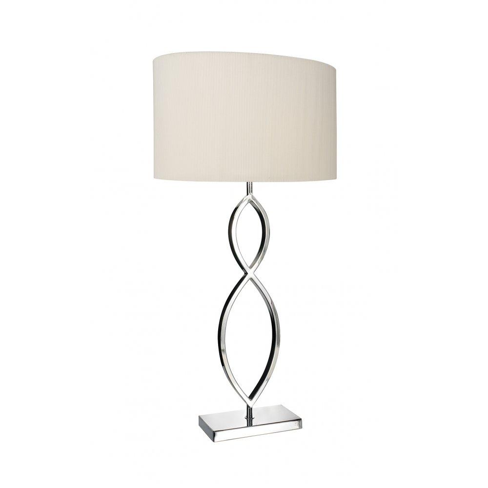 Dar lui4150 dar luigi modern table lamp chrome table lamp online dar lui4150 luigi 1 light table lamp polished chrome aloadofball Images