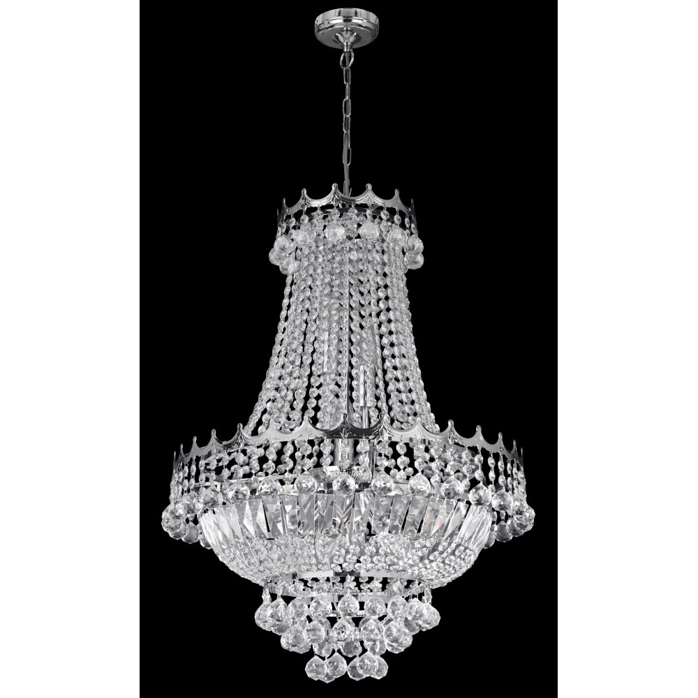 Searchlight 9112 59cc versailles 9 light polished chrome chandelier searchlight 9112 52cc versailles 9 light chandelier polished chrome arubaitofo Images