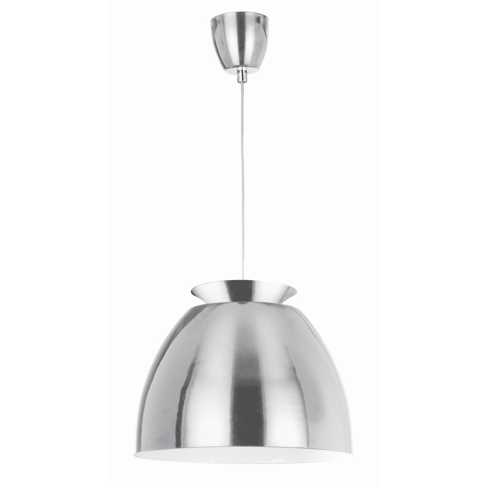 Searchlight 9870ss pendants 1 light stainless steel ceiling pendant - Stainless steel kitchen pendant light ...