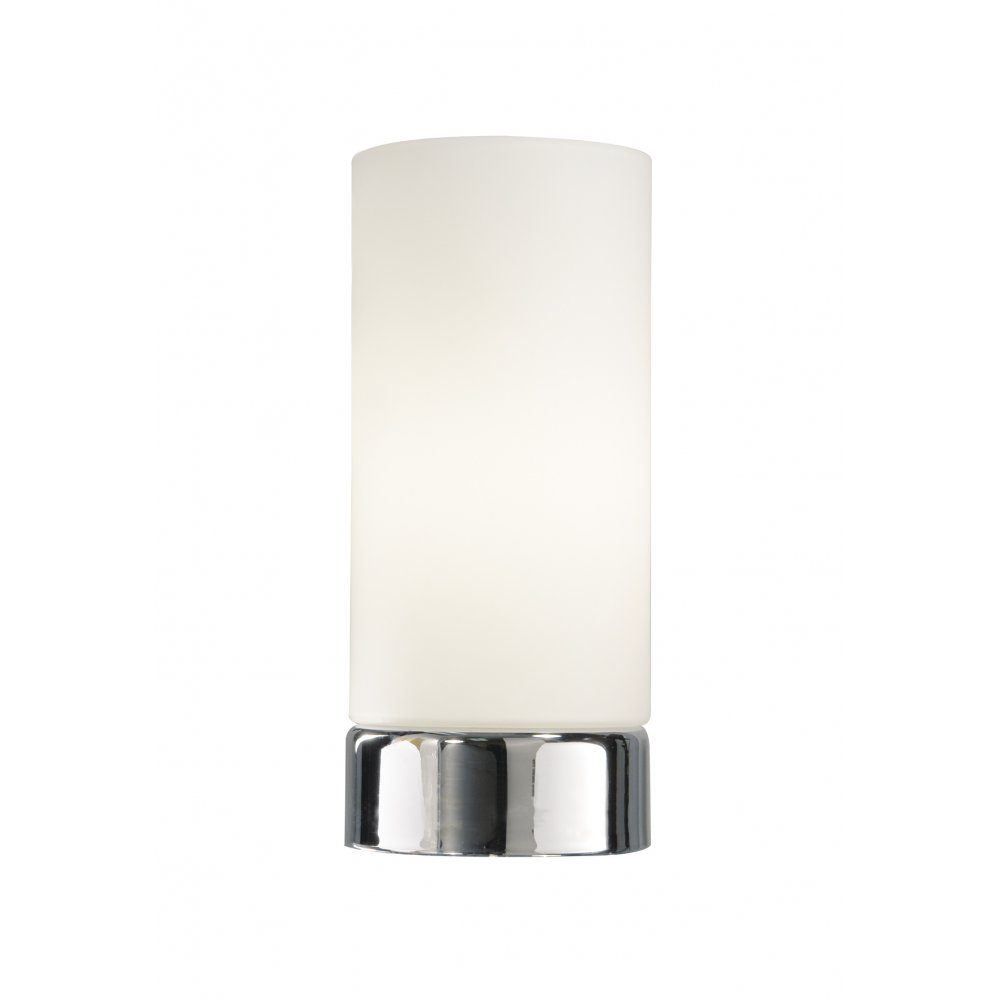 Nice Dar OWE4050 Owen 1 Light Touch Table Lamp Polished Chrome. U2039