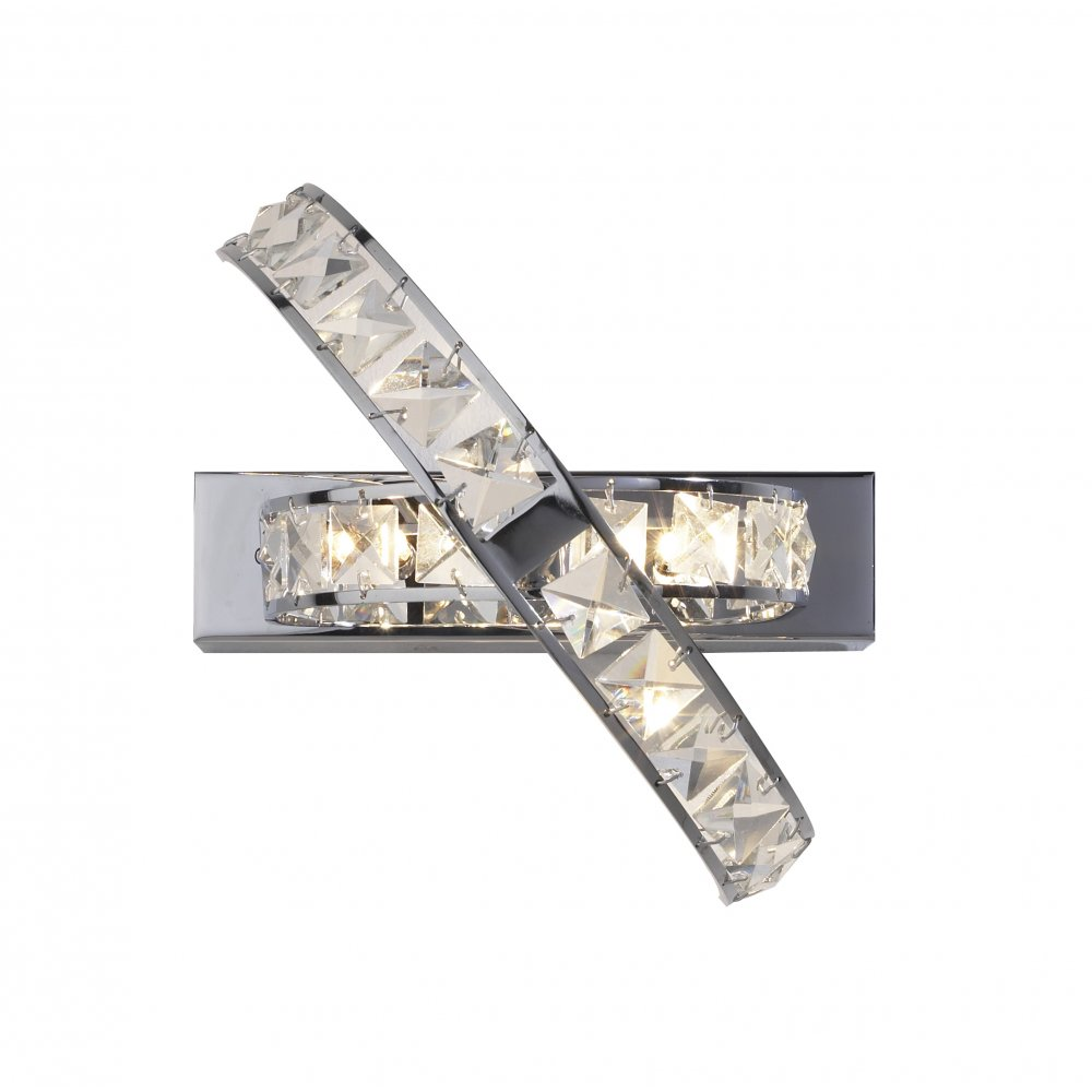 Ete3050 eternity crystal wall light dar ete3050 eternity 3 light crystal wall light polished chrome audiocablefo