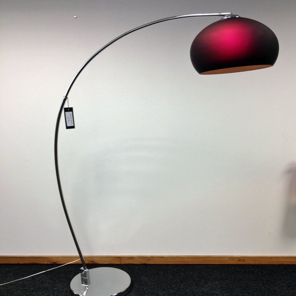 Retro Lighting Lrfloorpurple 1 Light Modern Floor Lamp