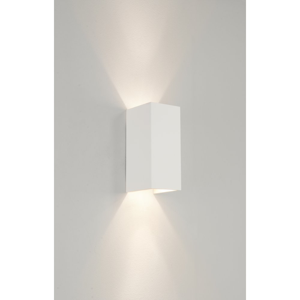 Wall Sconce With Down Light : Astro 0964 Parma 2 Light Wall Light Plaster