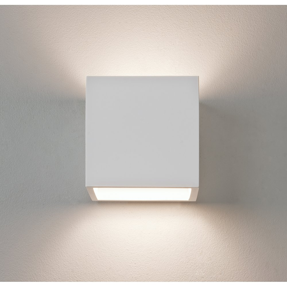 Astro 0917 Pienza 1 Light Wall Light Plaster