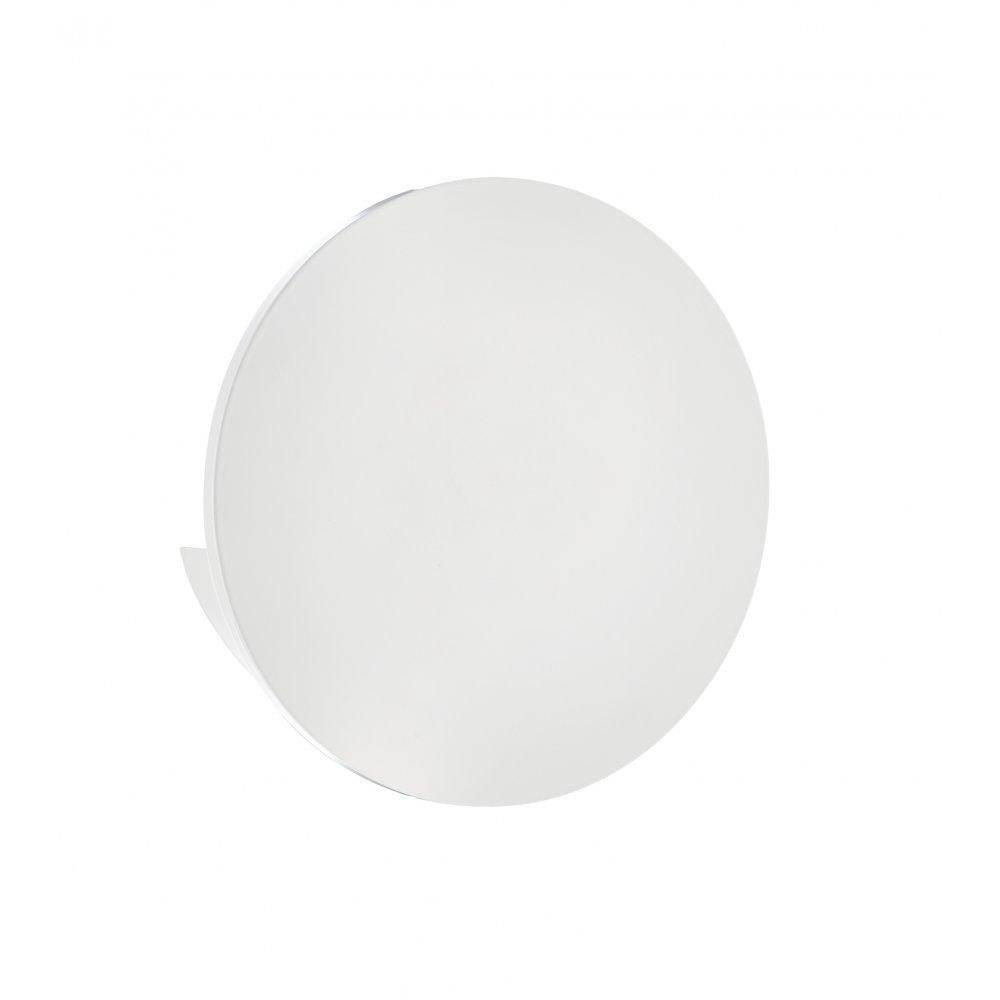 Dar Led Wall Lights : Dar ARG0768 Argo LED wall Light White Painted Aluminium Wall Light