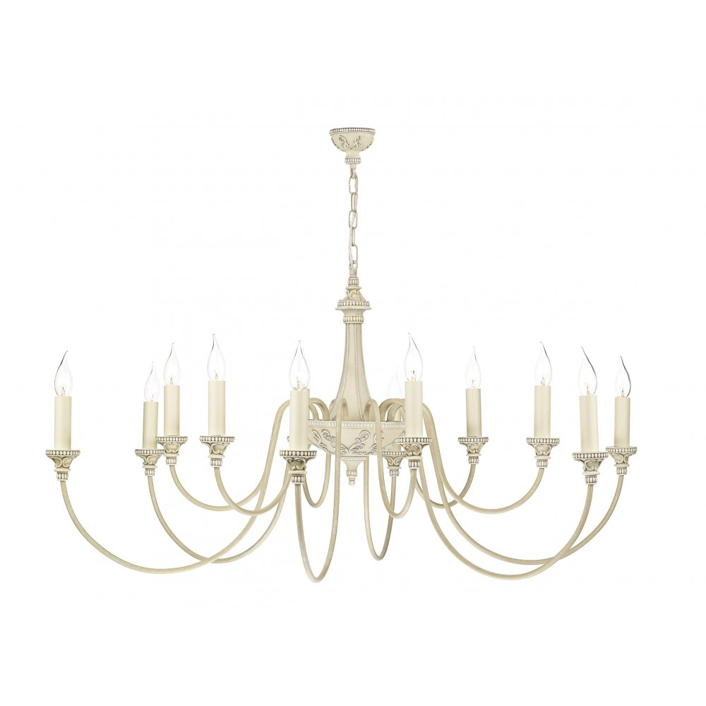 Bai1245 bailey chandelier david hunt 12 light cream pendant dar david hunt bai1245 bailey 12 light chandelier antique cream mozeypictures Images