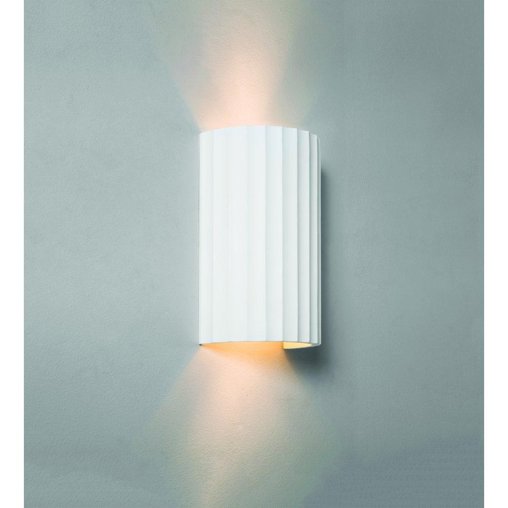 Astro 7256 Kymi 220 2 Light Wall Light White Plaster