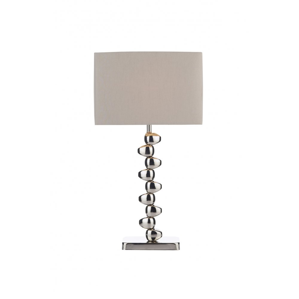 Dar offset chrome table lamp off4250 switched table lamp for Off set floor lamp