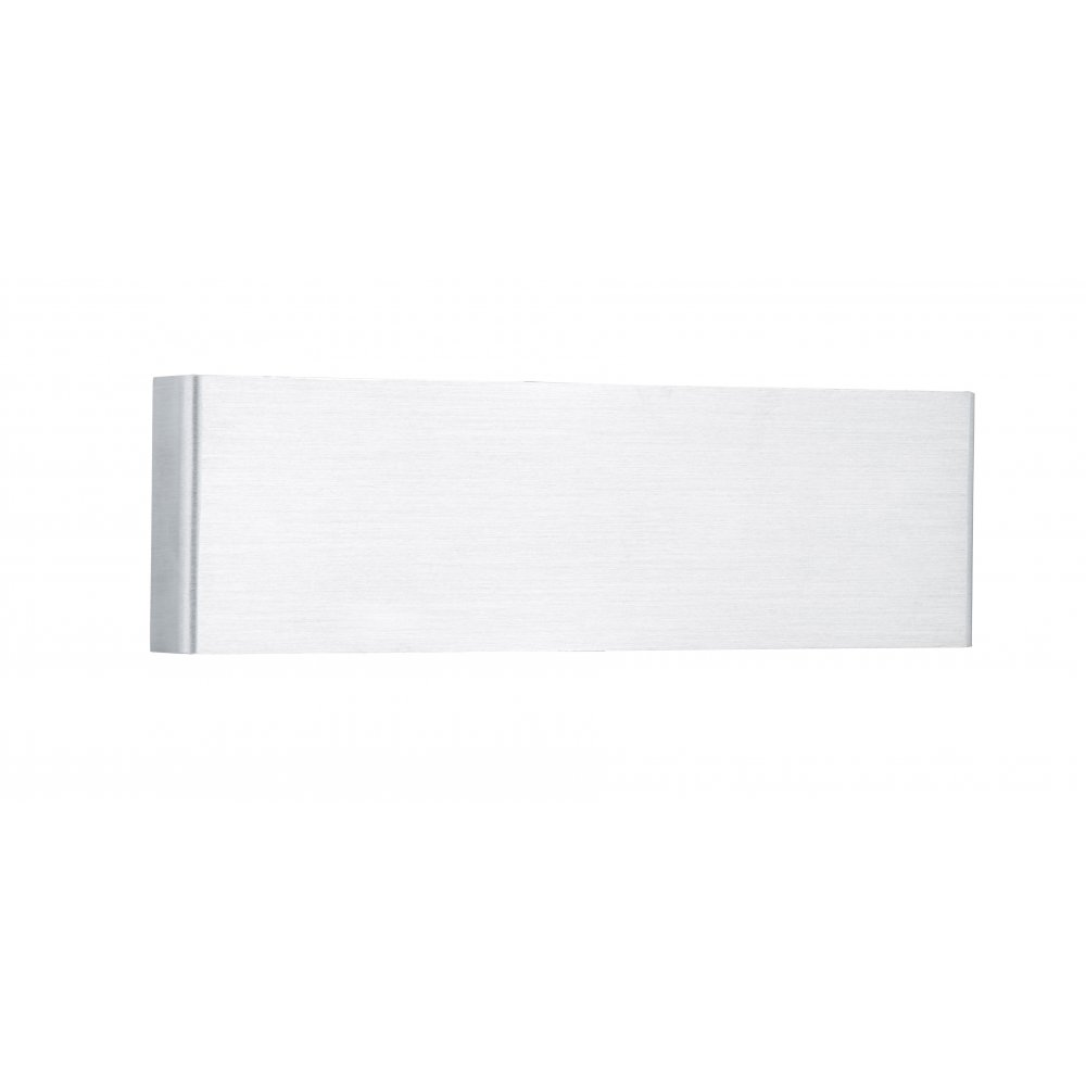Dar Led Wall Lights : Dar LIE3768 Wall Light Liege LED Wall Light Brushed Aluminium