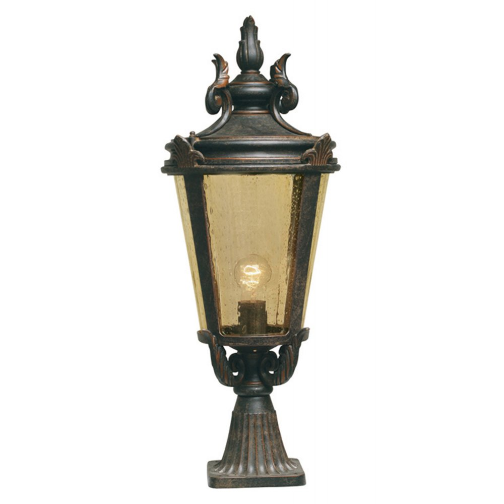 baltimore bt3 l post lamp outdoor weathered bronze. Black Bedroom Furniture Sets. Home Design Ideas