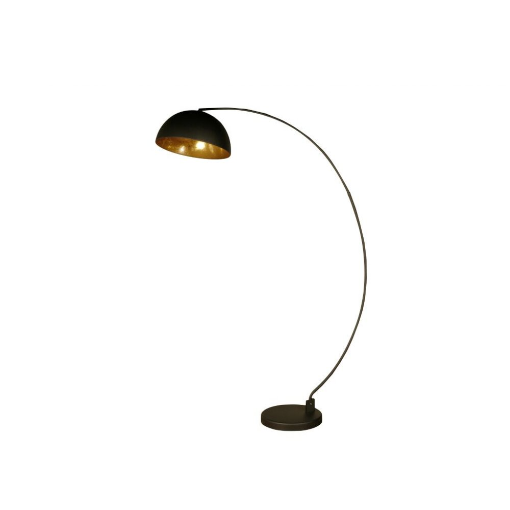 09586 Rico Floor Lamp Annaghmore Floor Lamp Black Gold